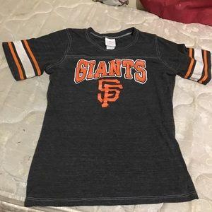 Women's Giants genuine merch shirt